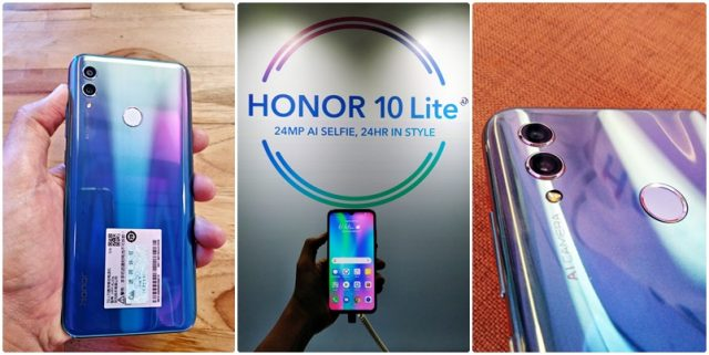 Honor 10 Lite Design